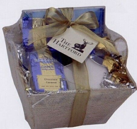 Gift basket coupon discount