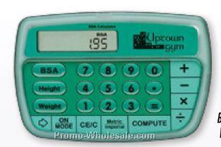 Medical Marketing Bsa Calculator W/ Vinyl Pouch,Wholesale china