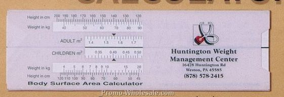 Body Surface Area Calculator